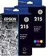Epson 215 2 Pack Bundle (Genuine)